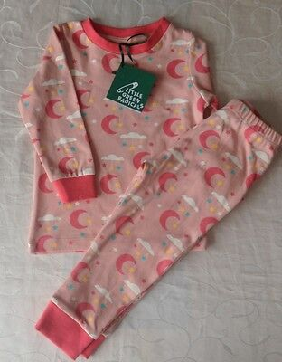 Little Green Radicals Girl's  Pyjama 2 Piece Set (1-2 Years)