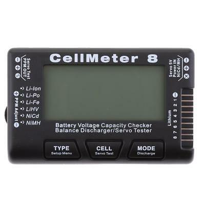 CellMeter 8 Battery Capacity Voltage Checker Servo Tester Battery Discharger