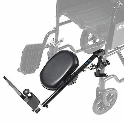 Drive Steel Elevating Footrest Leg Rest for Wheelchair Left or Right Elevated
