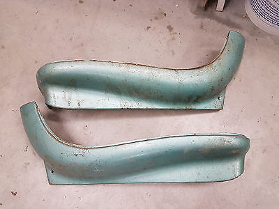 67 66 Impala Caprice parisienne bucket seat side trim gm steel Nova Chevelle