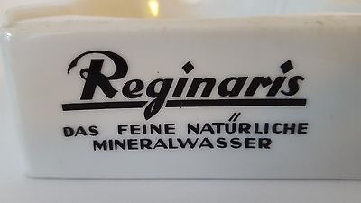 Rare German Advertising Mineral Water Brewery Ashtray From Duisdorf Germany !!!