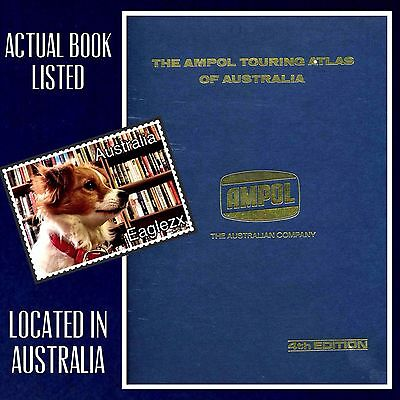 The Ampol Touring Atlas Of Australia Hardcover Fourth Edition  1973 A Retro Look