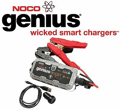 NOCO GENIUS BOOST BOOSTER STARTER OF EMERGENCY for MOTORCYCLE BATTERY FAIRING