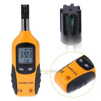 Digital LCD Psychrometer Humidity & Temperature Meter Dew Point Wet Bulb Tester