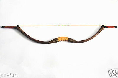 45LBs Handmade Mongolian Woodden Bow Recurve Bow For Archery Hunting