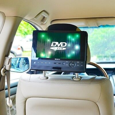 TFY Car Headrest Mount For Swivel and Flip DVD Player-10 Inch