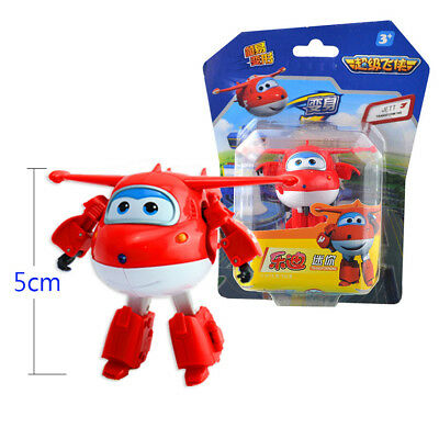 Super Wings Mini JETT transformer Robot Toy Airplane Plane Superwings Gift