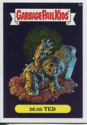 Garbage Pail Kids Chrome Series 1 Base Card 5a DEAD TED