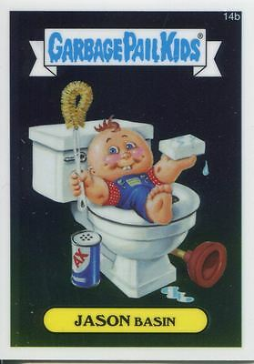 Garbage Pail Kids Chrome Series 1 Base Card 14b JASON BASIN
