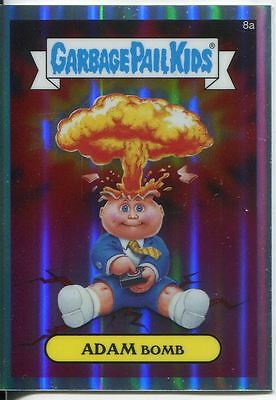 Garbage Pail Kids Chrome Series 1 Refractor Base Card 8a ADAM BOMB