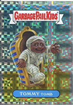 Garbage Pail Kids Chrome Series 1 X Fractor Refractor Base Card 36b TOMMY TOMB