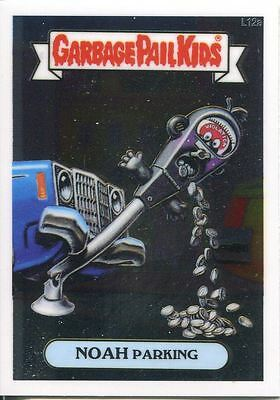 Garbage Pail Kids Chrome Series 1 Lost Card L12a Noah Parking
