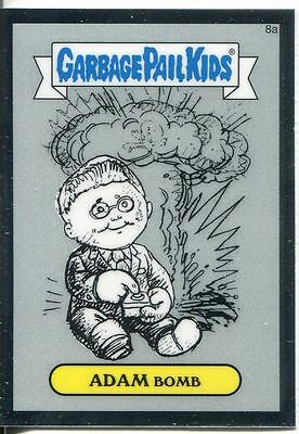 Garbage Pail Kids Chrome Series 1 Complete 82 Card Pencil Art Parallel Base Set
