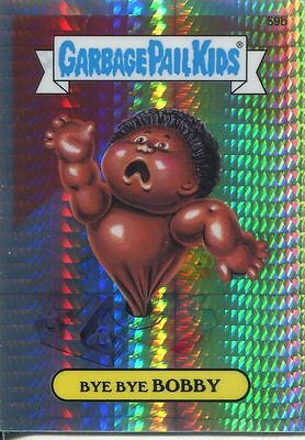 Garbage Pail Kids Chrome Series 2 Prism Refractor Parallel 59b BYE BYE BOBBY***