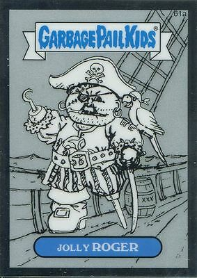 Garbage Pail Kids Chrome Series 2 Pencil Art Concept 61a JOLLY ROGER