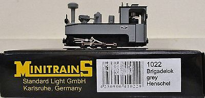 Minitrains 1022 - German Trench Train Brigadelok Loco. (009/HOe Narrow Gauge)