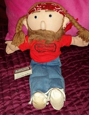 Willie Nelson & Family General Store 16 inch Cloth Doll with Tags 1989