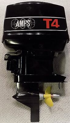 AMPS T4 Outboard Motor w K & B 7.5 Marine New in Box Truely a Collectors Dream