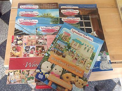 Sylvanian Families Collectors Club Magazines and catalogue 9x bundle Collectable