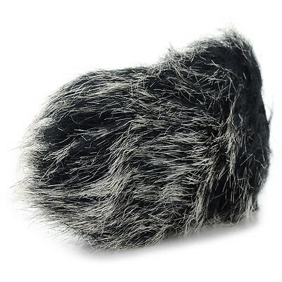 Universal Outdoor MIC Middle Rabbit Hair Camera Cover Windscreen For Microphone