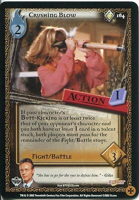 Buffy TVS CCG Limited Class Of 99 Rare Card #134 Mr Trick