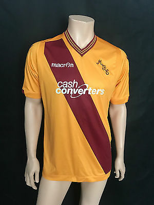 Motherwell FC Home Football Shirt, Home, Size X-Large, 2015/16, Brilliant