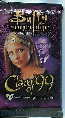 Buffy TVS CCG Class of 99 Unlimited Edition Factory Sealed Hobby Packet / Pack