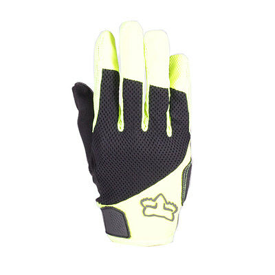 Fox Reflex Gel Men's Full-finger MTB Glove Flo Yellow XL
