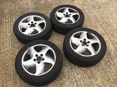 Volvo 850 alloy wheels with Tyres X4
