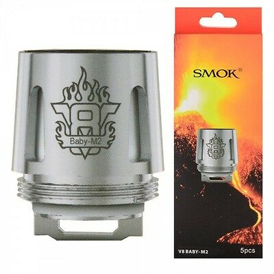 Pack 5 résistances V8 Baby M2 Smoktech