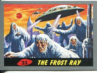 Mars Attacks Heritage Silver Parallel Base Card #23    The Frost Ray