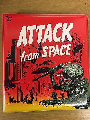 Mars Attacks Heritage - Attack From Space Official Topps Binder