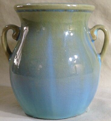 Fulper Cabinet Vase Shape 825 Stunning High Gloss Flambé C. 1928-35