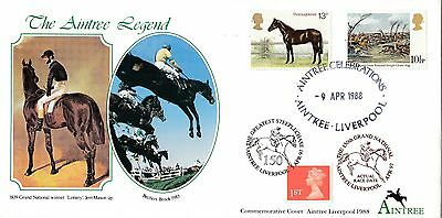 (99708) GB Covercraft Aintree Grand National DOUBLE DATED 1988 / 1997