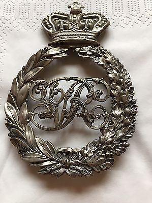 Antique Victorian Pouch badge Military 19th Century RARE