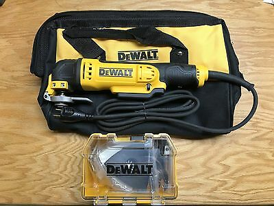 DEWALT 3 Amp Oscillating Tool Kit with 29 Accessories DWE315K New