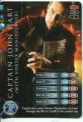 Torchwood TCG Trading Card #010 Captain Jack