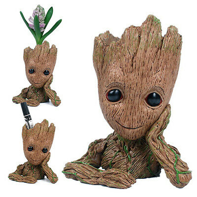 NIB Guardians of the Galaxy Vol. 2 Baby Groot Blumentopf Flowerpot Garten Figur