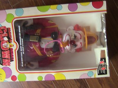 Vintage New in Box, Battery Operated Bump 'N Benny Clown Fireman