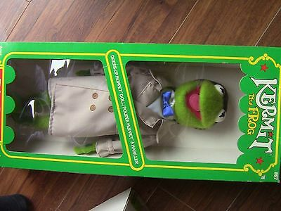Vintage New in Box, Kermit the Frog Dress-Up Muppet Doll
