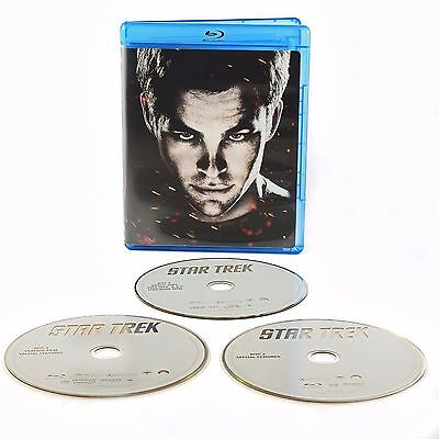 Star Trek (Blu-ray, 2009) (Bilingual) Special Edition 3 disc - Chris Pine