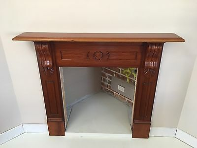 Timber Mantle Piece Fire Place 1400w X 1220h
