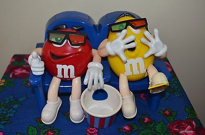 "Collectable ""M&M"" Candy Dispenser Red and Yellow at The Movie 3 D"