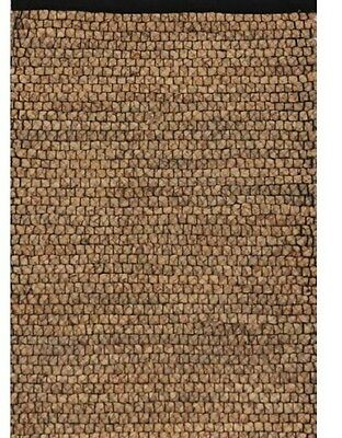 CLEARANCE - WATER HYACINTH RUNNER with  BLACK TRIM - 60CMS X 240CMS
