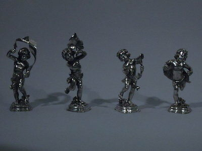 Buccellati Bacchus Figures - Dionysus - Italian Sterling Silver