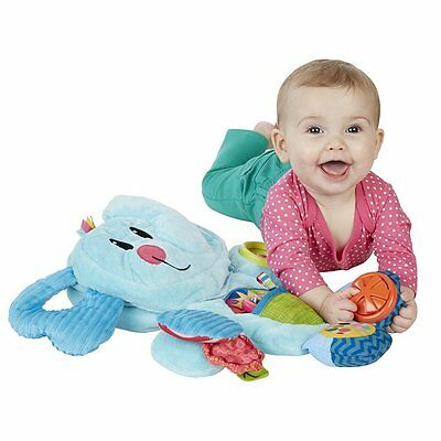 Newborn Infant Baby Child Playskool Tummy Time Activity Playmat Busy Elephant 0+