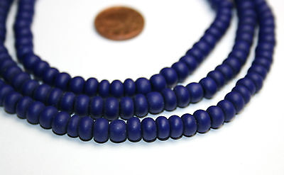 Strand old bohemian padre lapis blue trade beads