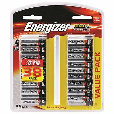 Energizer Max AA - 38 Pack Australia Wide Free Postage.