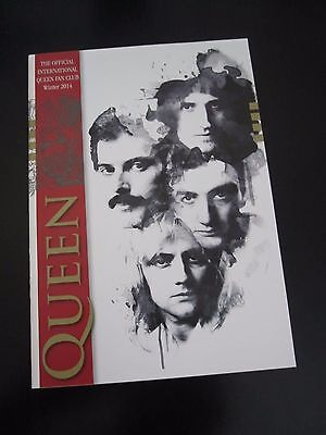 Queen  :  Official Fan Club Magazine - Winter Issue 2014 - Rare