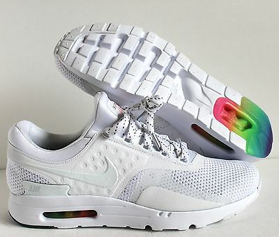 new style 15959 84f7b NEW NIKE AIR Max Zero QS White Pure Platinum shoes 789695 ...